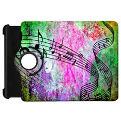 Abstract Music 2 Kindle Fire Hd Flip 360 Case