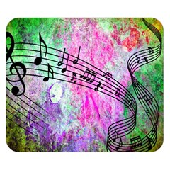 Abstract Music 2 Double Sided Flano Blanket (Small)