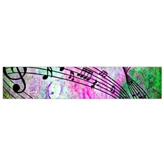 Abstract Music 2 Flano Scarf (small)