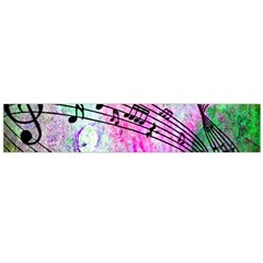 Abstract Music 2 Flano Scarf (Large)