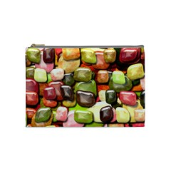 Stones 001 Cosmetic Bag (medium)