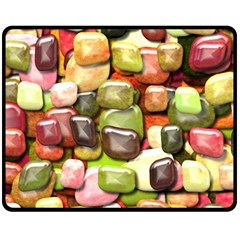 Stones 001 Fleece Blanket (Medium)