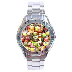 Stones 001 Stainless Steel Men s Watch