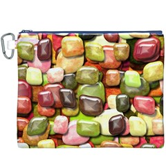 Stones 001 Canvas Cosmetic Bag (xxxl)