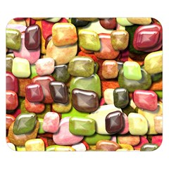 Stones 001 Double Sided Flano Blanket (Small)