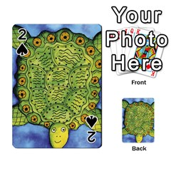 Turtle Playing Cards 54 Designs