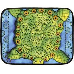 Turtle Fleece Blanket (Mini)