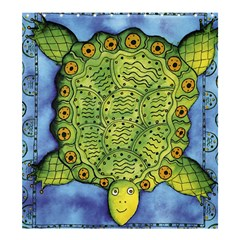 Turtle Shower Curtain 66  x 72  (Large)