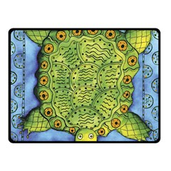 Turtle Double Sided Fleece Blanket (Small)