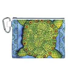 Turtle Canvas Cosmetic Bag (l)