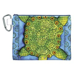 Turtle Canvas Cosmetic Bag (XXL)