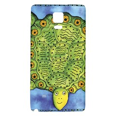 Turtle Galaxy Note 4 Back Case