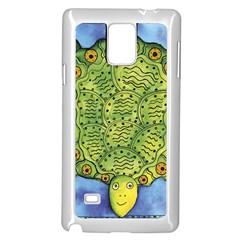 Turtle Samsung Galaxy Note 4 Case (White)