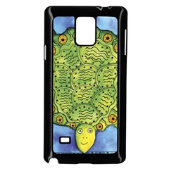 Turtle Samsung Galaxy Note 4 Case (Black)