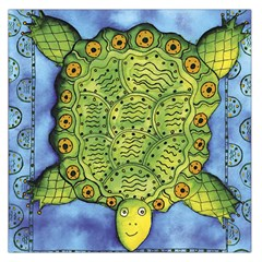 Turtle Large Satin Scarf (Square)