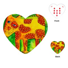 Spotty Dog Playing Cards (Heart)
