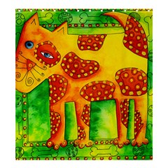 Spotty Dog Shower Curtain 66  x 72  (Large)