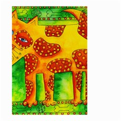 Spotty Dog Small Garden Flag (Two Sides)