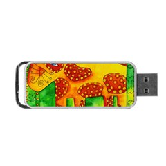 Spotty Dog Portable Usb Flash (two Sides)