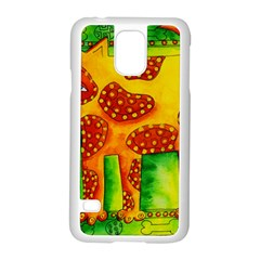 Spotty Dog Samsung Galaxy S5 Case (white)