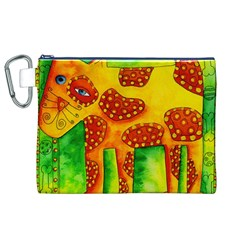 Spotty Dog Canvas Cosmetic Bag (xl)