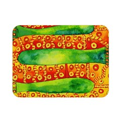 Patterned Snake Double Sided Flano Blanket (mini)