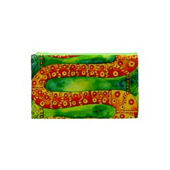 Patterned Snake Cosmetic Bag (xs)