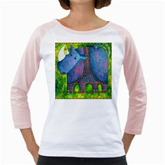 Patterned Rhino Girly Raglans