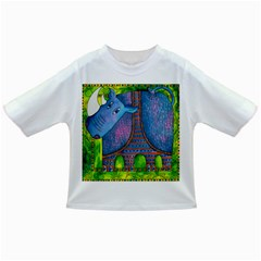 Patterned Rhino Infant/Toddler T-Shirts