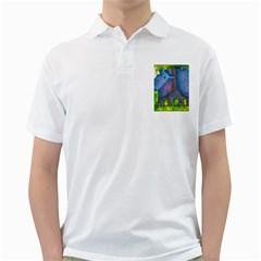 Patterned Rhino Golf Shirts