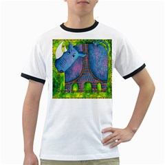 Patterned Rhino Ringer T-Shirts