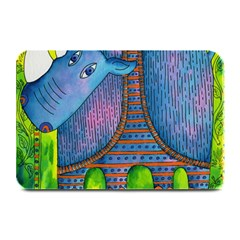 Patterned Rhino Plate Mats