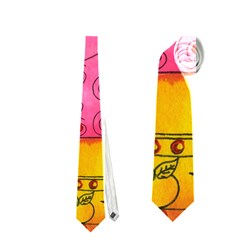 Patterned Pig Neckties (One Side)