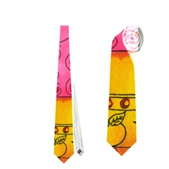 Patterned Pig Neckties (Two Side)