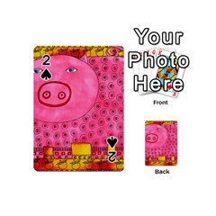Patterned Pig Playing Cards 54 (Mini)