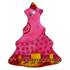 Patterned Pig Ornament (Christmas Tree)