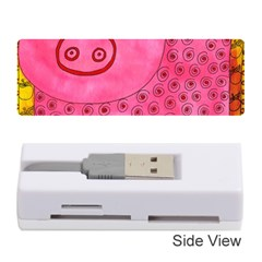 Patterned Pig Memory Card Reader (Stick)