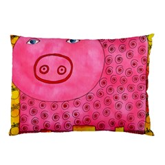 Patterned Pig Pillow Cases (two Sides)