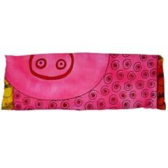Patterned Pig Body Pillow Cases (dakimakura)