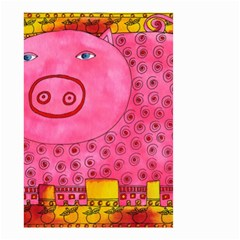 Patterned Pig Small Garden Flag (Two Sides)