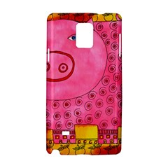 Patterned Pig Samsung Galaxy Note 4 Hardshell Case