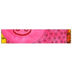 Patterned Pig Flano Scarf (small)