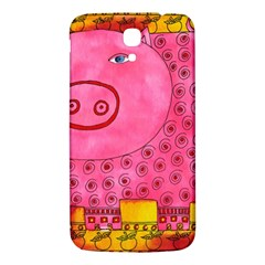 Patterned Pig Samsung Galaxy Mega I9200 Hardshell Back Case
