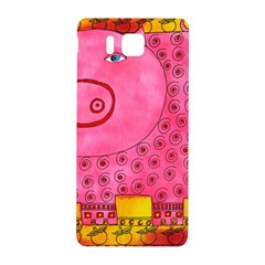 Patterned Pig Samsung Galaxy Alpha Hardshell Back Case