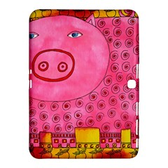Patterned Pig Samsung Galaxy Tab 4 (10 1 ) Hardshell Case