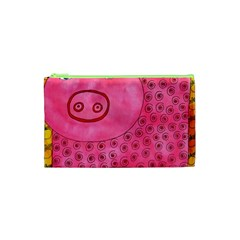 Patterned Pig Cosmetic Bag (XS)
