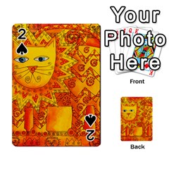 Patterned Lion Playing Cards 54 Designs