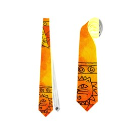 Patterned Lion Neckties (one Side)