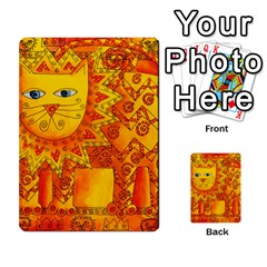 Patterned Lion Multi Purpose Cards (rectangle)