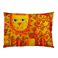 Patterned Lion Pillow Cases